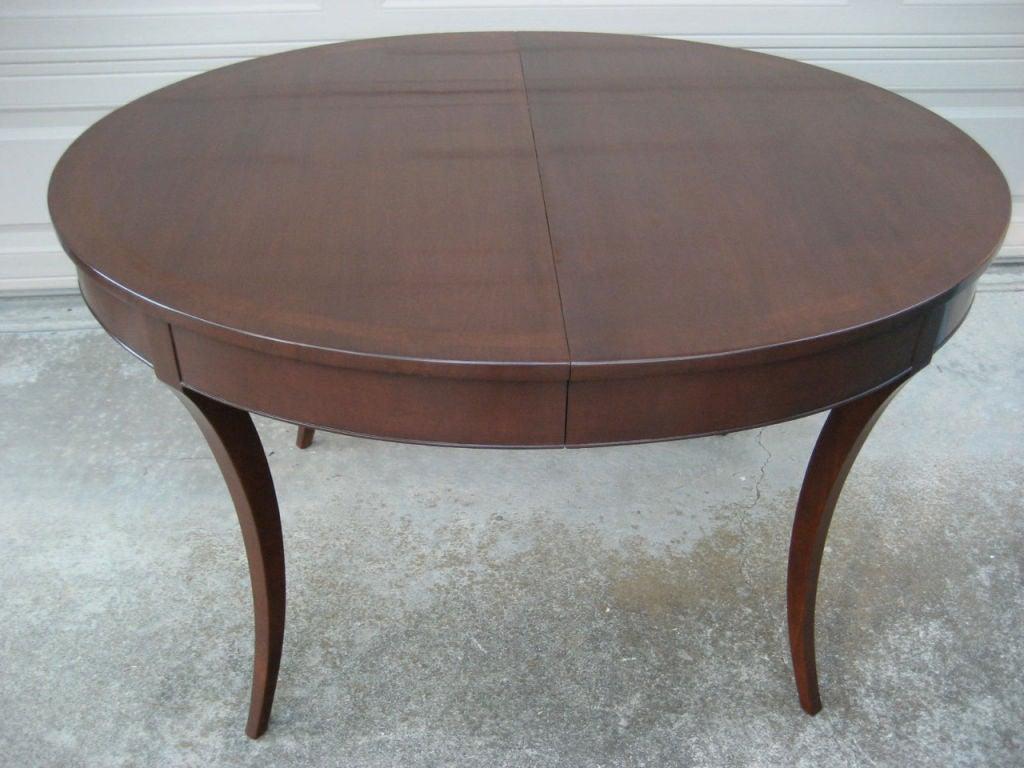 Custom Klismos style Dining table by Johan Tapp at 1stdibs : img2611 from 1stdibs.com size 1024 x 768 jpeg 99kB