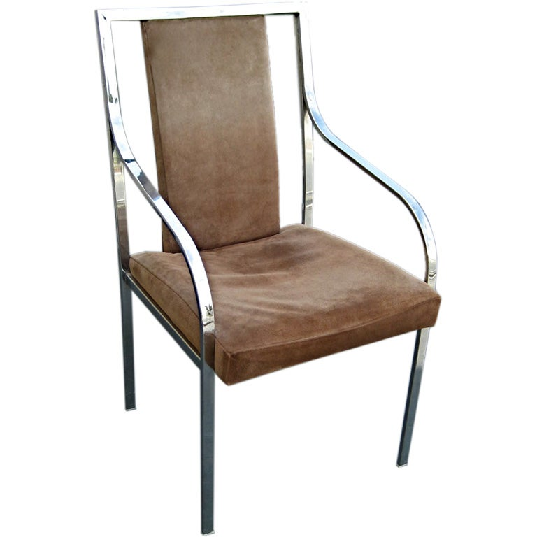 Img for Suede dining room chairs