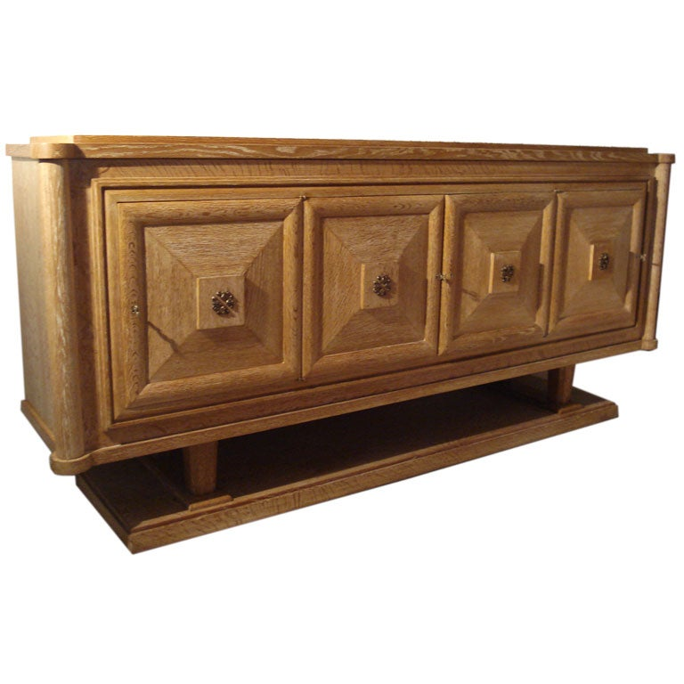 Cerused French Oak Kitchens And Cabinets: French Cerused Oak Sideboard. At 1stdibs