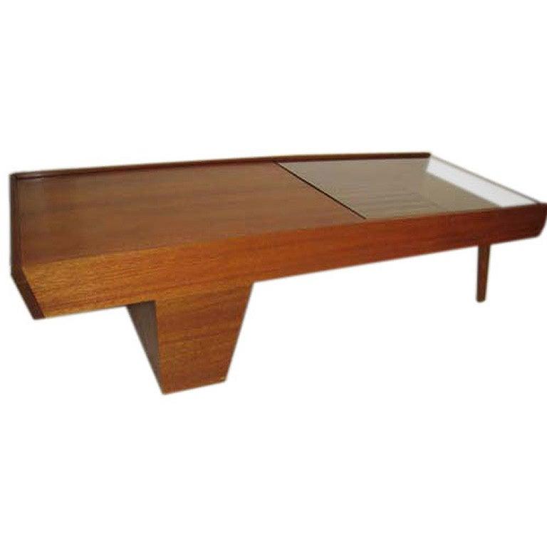Mid Century Coffee Table John Keal For Brown Saltman At: California Modern John Keal For Brown And Saltman