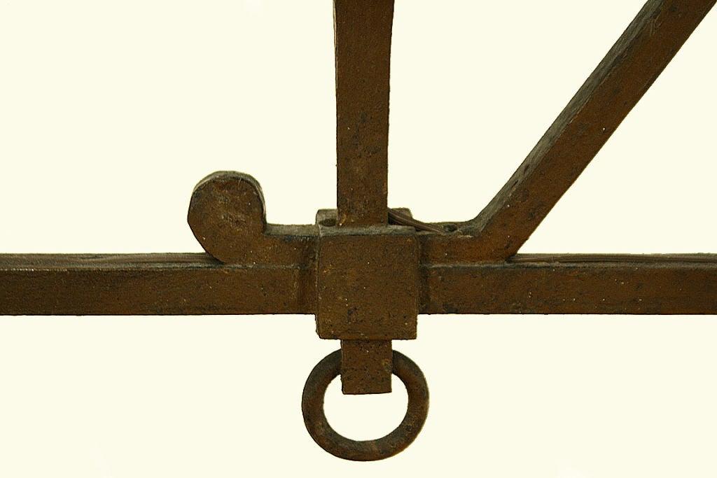 italian wrought iron horizontal 4 light hanging fixture at. Black Bedroom Furniture Sets. Home Design Ideas