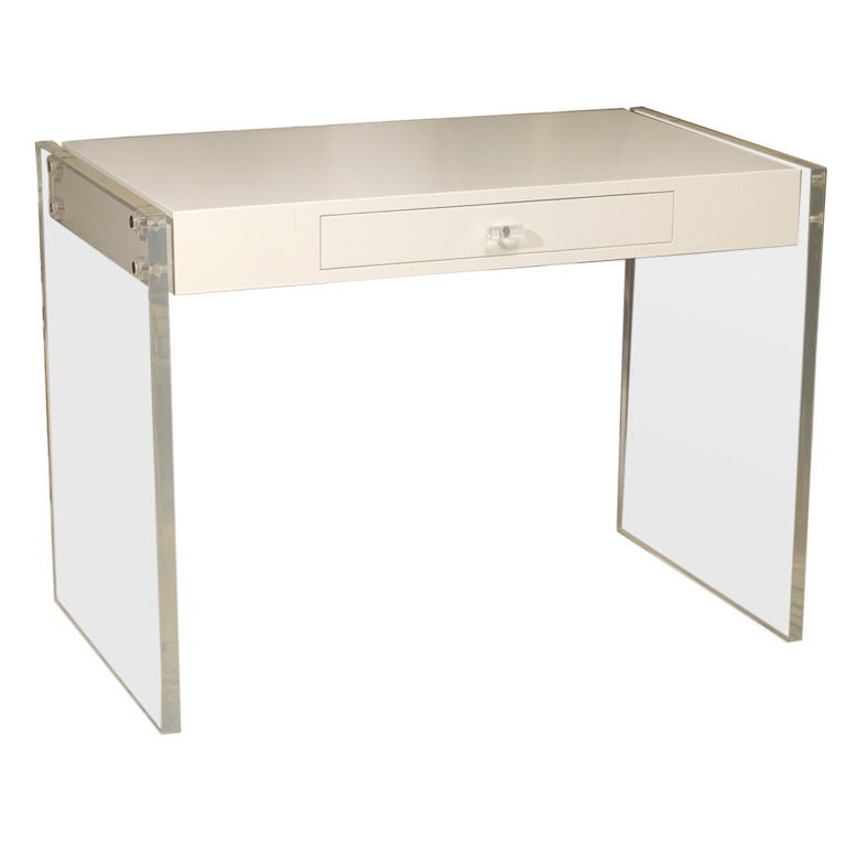 Vintage Lucite Desk At 1stdibs