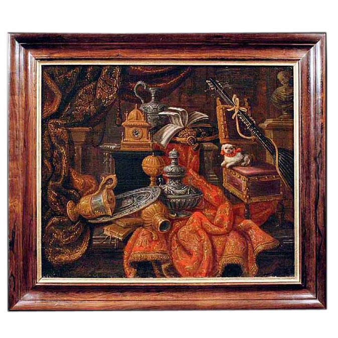 Italian Still Life Circle Of Rasio Late 17th Century At