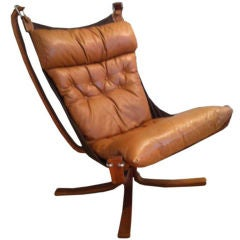 """Falcon"" Chair by Sigurd Ressell,  Circa 1970"