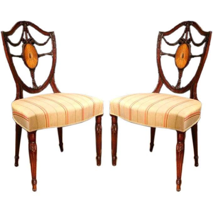 Shield Back Dining Chairs Sheraton