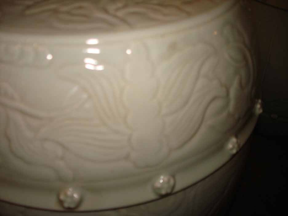 Pair Celadon Chinese Garden Stools Early 20th C At 1stdibs
