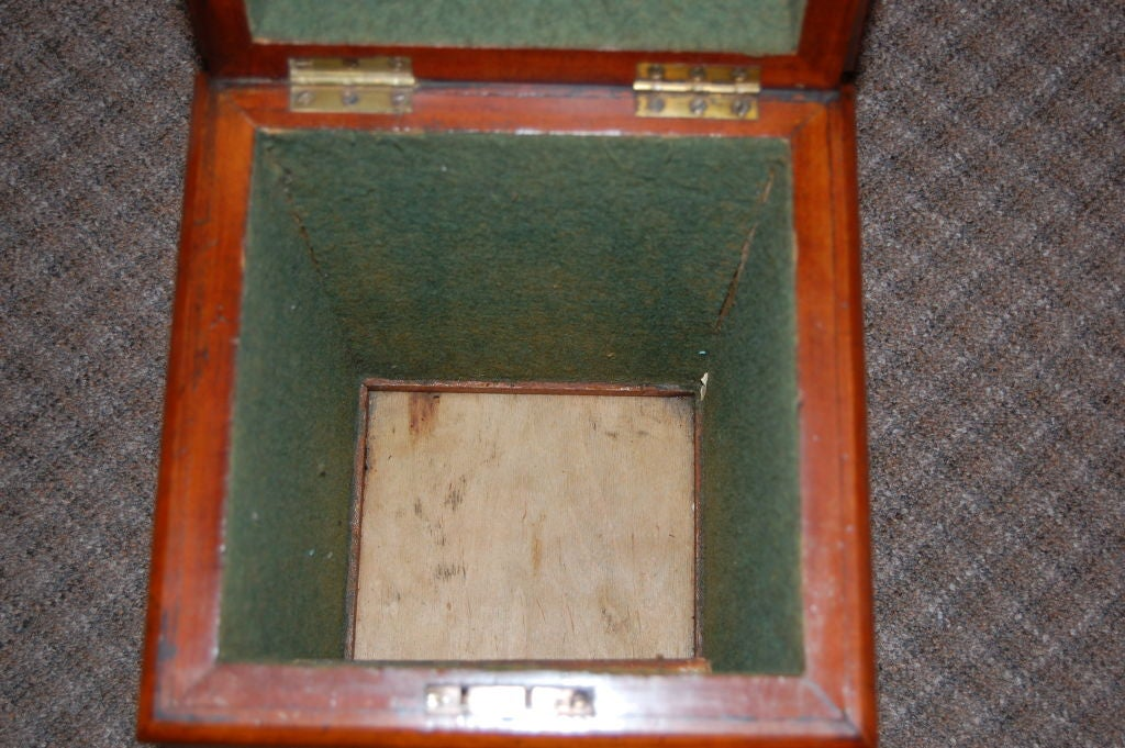 19th Century Tall Storage Box For Sale