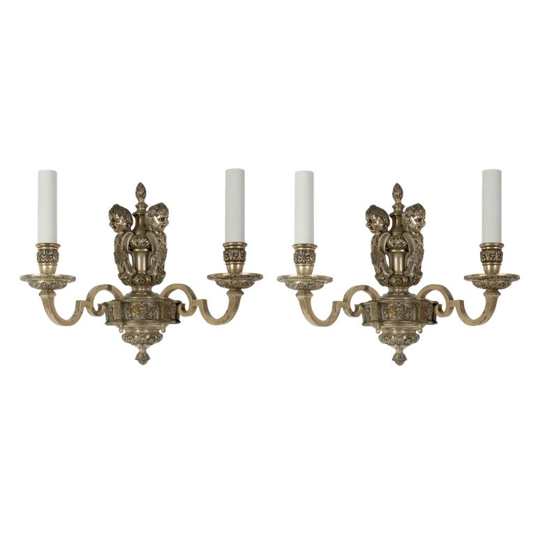 Skyrim Wall Sconces Not Working : A pair of silverplate sconces at 1stdibs