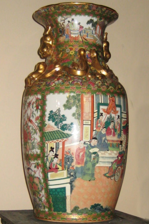 Pair Of Large Chinese Vases For Sale At 1stdibs