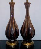 Dark Brown Table Lamps