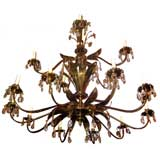 Large Tiered Moderne Chandelier