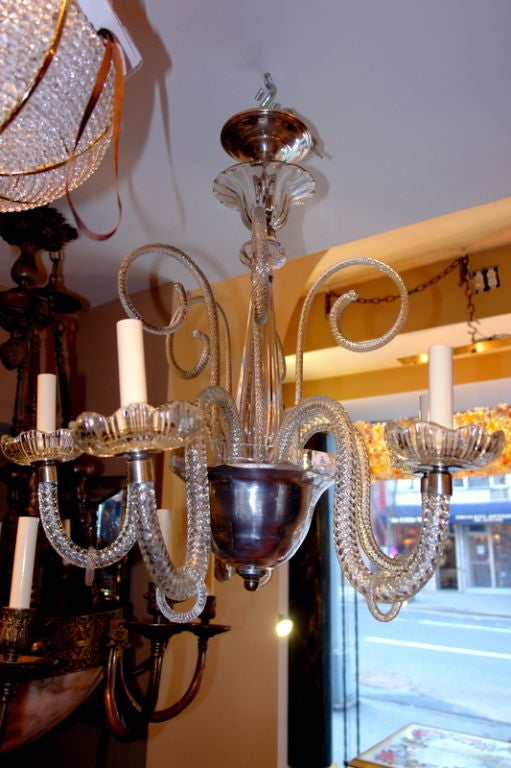 how to clean chandelier glass pieces