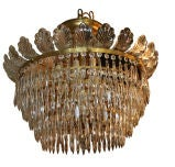 Large Set of 15 Neoclassic Crystal Fixtures