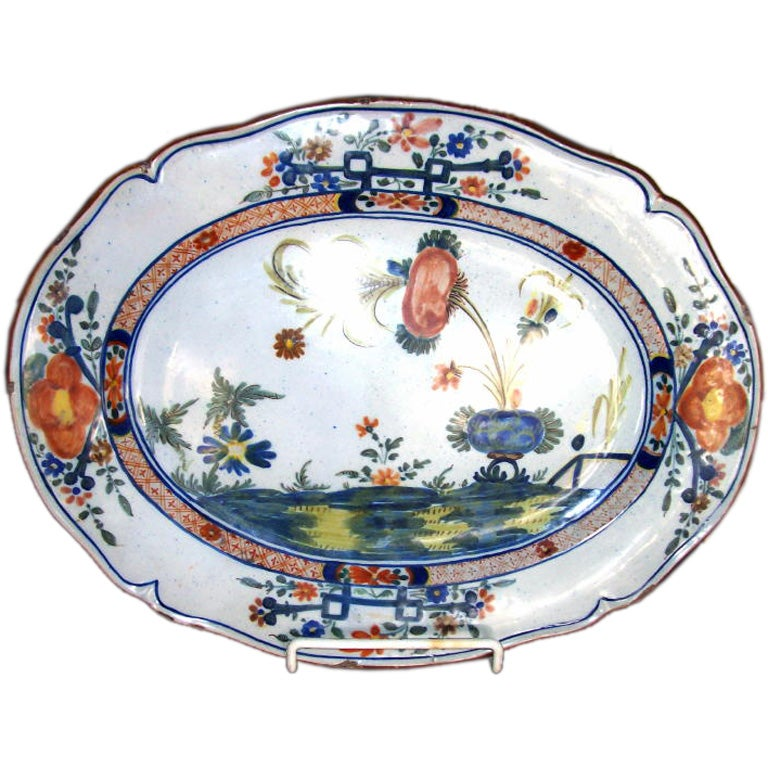 18TH CENTURY ITALIAN PLATTER at 1stdibs : platter from www.1stdibs.com size 768 x 768 jpeg 106kB
