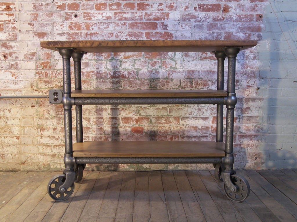 Two Tier Rolling Cart