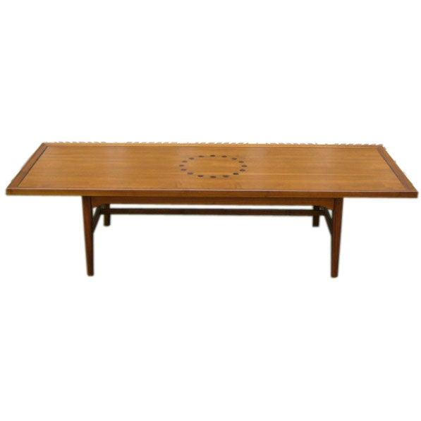 Kip Stewart Long Board Coffee Table By Drexel At 1stdibs