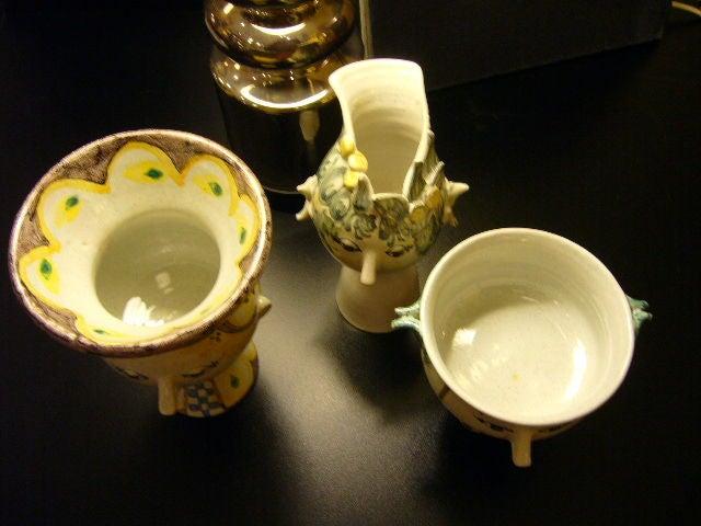Danish Whimsical Bjorn Wiinblad Head Vase