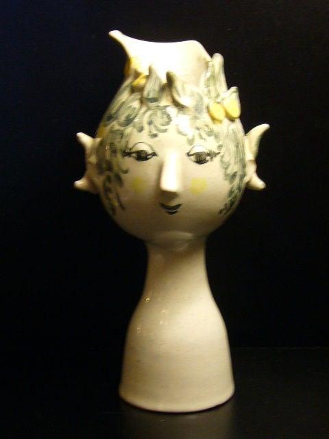 Whimsical Bjorn Wiinblad Head Vase 1