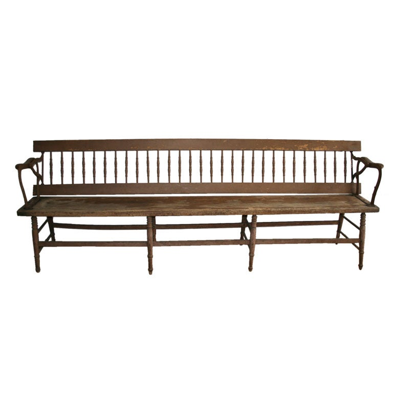 Old Wood Benches