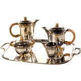 Amazing Silver and Horn Service