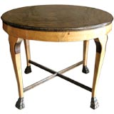 Otto Schulz, Boet, neoclassical Swedish 1920's table flame birch
