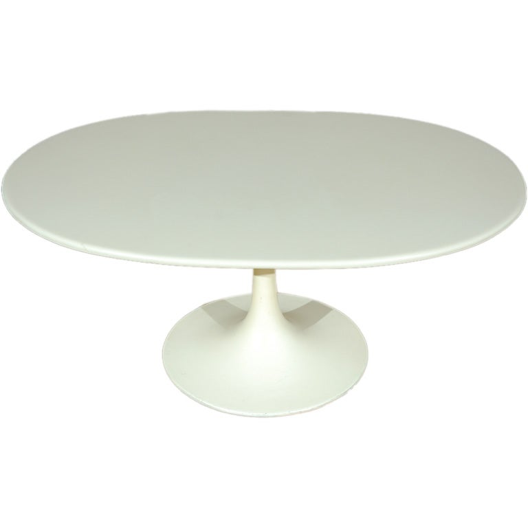 Burke Tulip Oval Side Or Coffee Table 1
