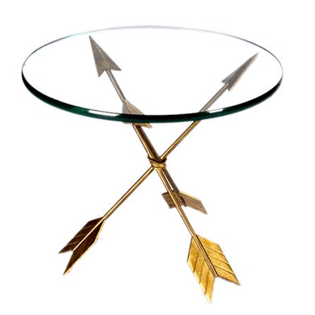 Golden Arrow Table For Sale