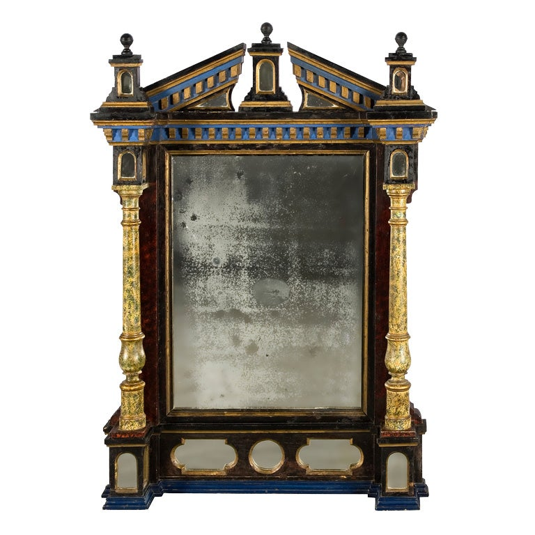 French Renaissance Style Mirror At 1stdibs