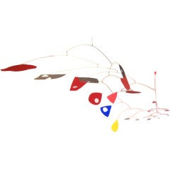 14 Foot Diameter Mobile in Painted Metal After Calder