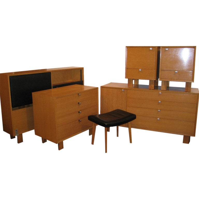 George Nelson Bedroom Suite For Herman Miller At 1stdibs