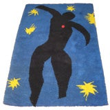 Hand Made Rug / Wall Hanging From Matisse Painting