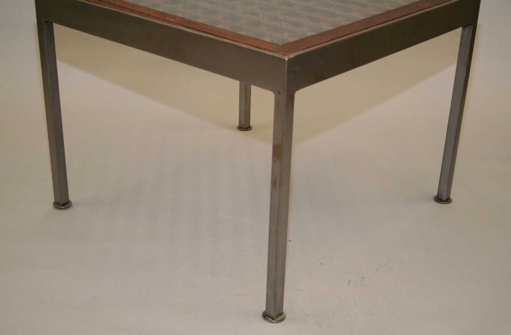 Pair Of Cast Iron Coffee Table At 1stdibs