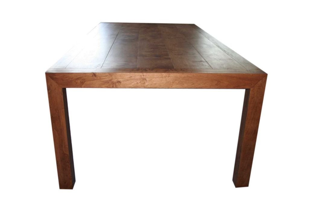custom made dining table by bh a at 1stdibs