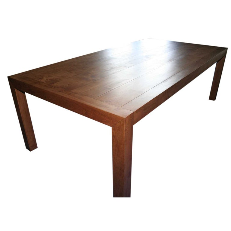 Custom Made Dining Table By Bh Amp A At 1stdibs