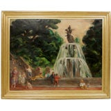 """Park Scenes with Figures"" by Esther Williams"