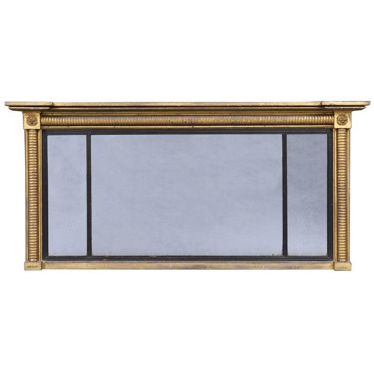English William IV Overmantel Mirror