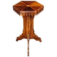 Tourist Souvenir Pedestal Tripod Table