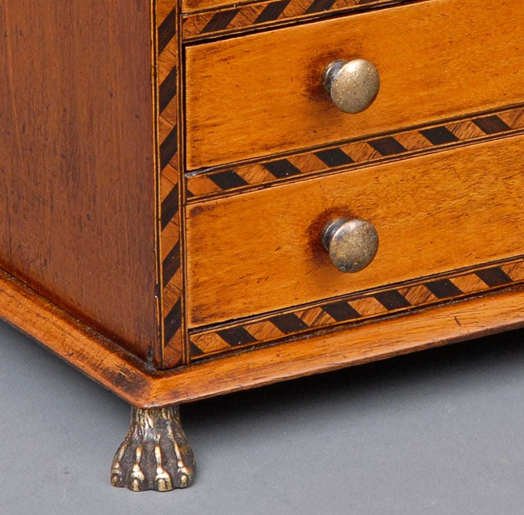 English Miniature Chest For Sale 1