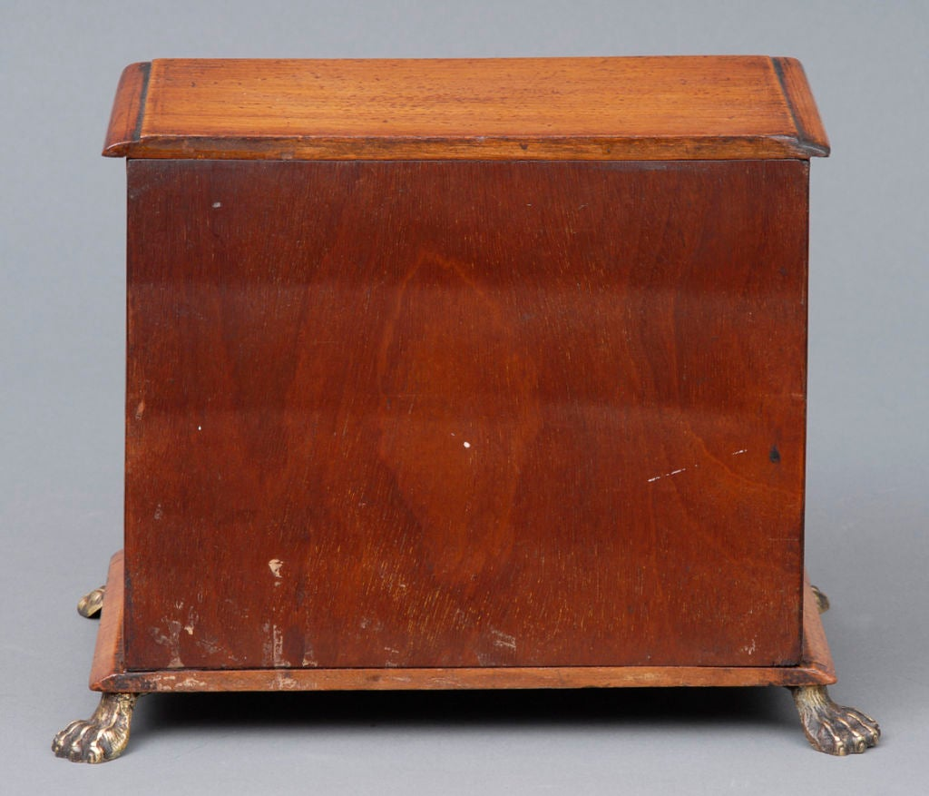 English Miniature Chest In Excellent Condition For Sale In Sheffield, MA
