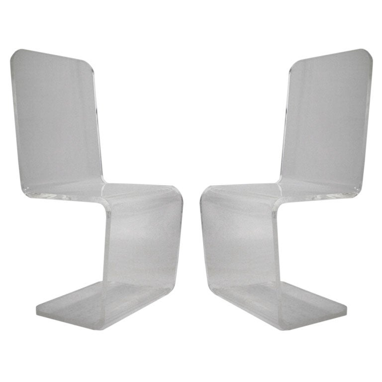 Lucite Chairs Key Shot
