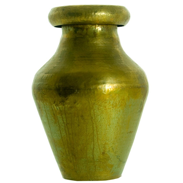 Indian Brass Water Vessel At 1stdibs