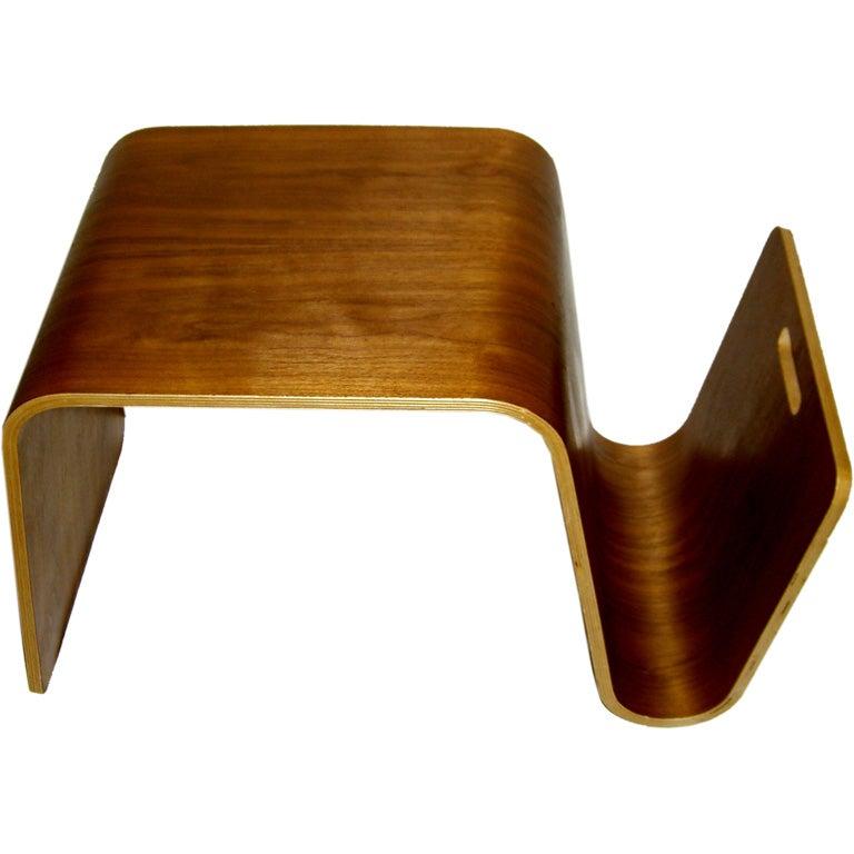 Pretty well designed 1960s plied bent wood stool u0026 magazine rack 1  sc 1 st  1stDibs & Pretty well designed 1960s plied bent wood stool and magazine rack ... islam-shia.org