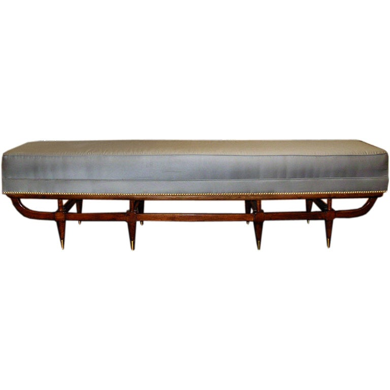 Mid Century Modern Six Foot Long Bench At 1stdibs