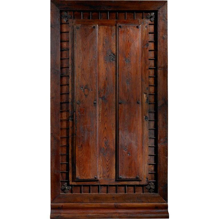 Portera 18th Century Antique Spanish Entry Exterior Door