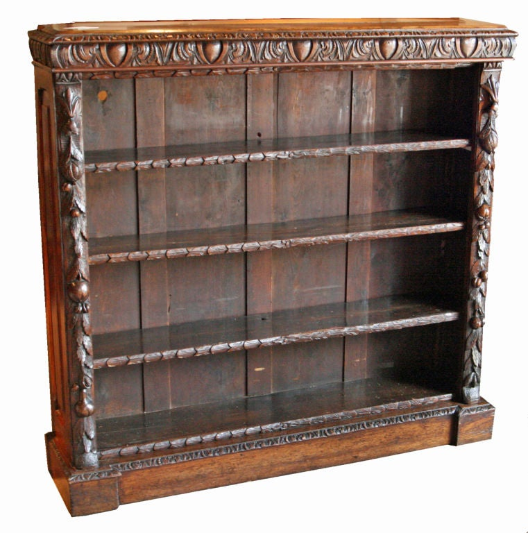 jacobean style open bookcase at 1stdibs