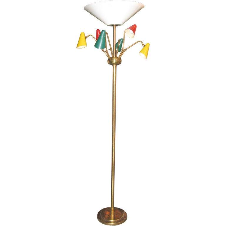 Mid-Century Italian Lamp in the Style of Arteluce