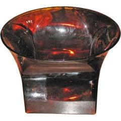Mid-Century Heavy Venini Centrepiece or Vase