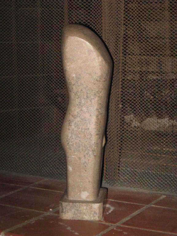 Modern sculpture of a male Torso-Hampton location.