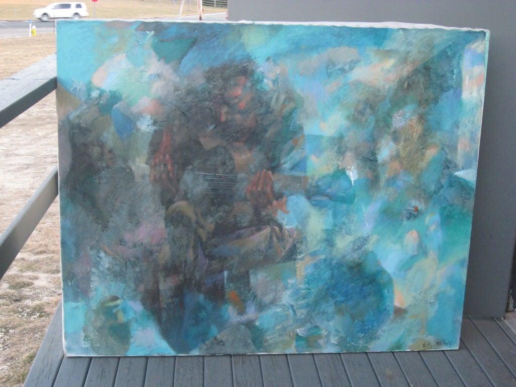 Semi abstract sef portrait by Ilias Muratov.