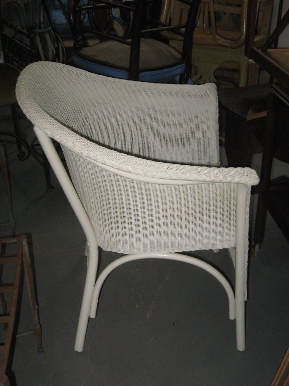 set od six vintage lloyd loom chairs at 1stdibs. Black Bedroom Furniture Sets. Home Design Ideas